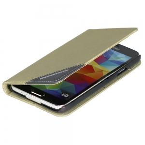 Чехол для мобильного телефона Promate FOLIO-S5 (00006590) Gold