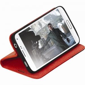 Чехол для мобильного телефона Promate FOLIO-S5 (00006591) Red