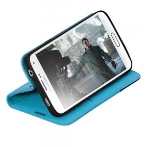 Чехол для мобильного телефона Promate FOLIO-S5 (00006589) Blue