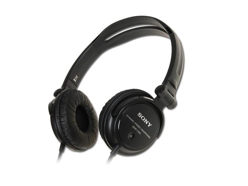 Наушники Sony MDR-V150A Black