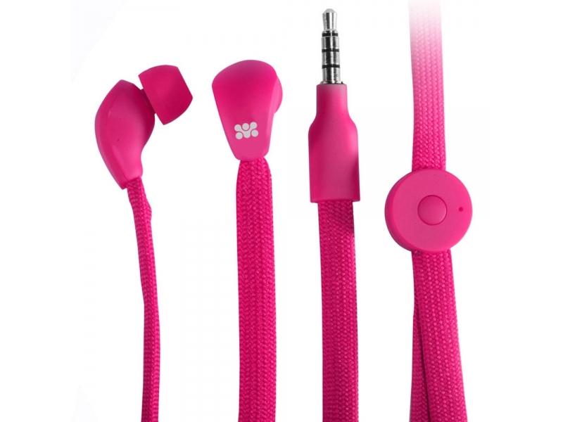 Наушники Promate Lacey Pink