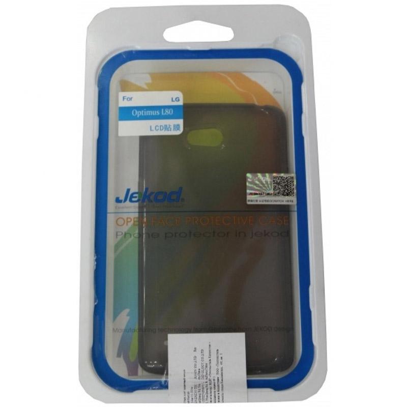 Чехол для мобильного телефона Jekod TPU Case Для LG L80 Grey