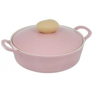 Сотейник Frybest Round L22-P Pink