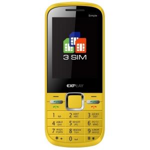 Мобильный телефон Explay Simple Yellow