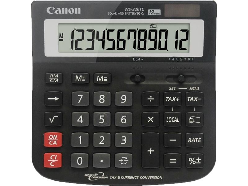 Калькулятор Canon WS-220TC