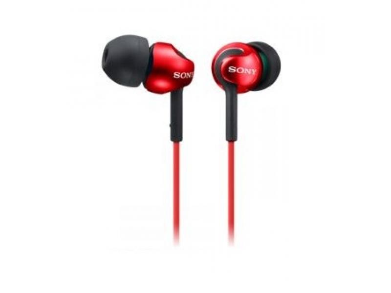 Наушники Sony MDR-EX110LPR Red