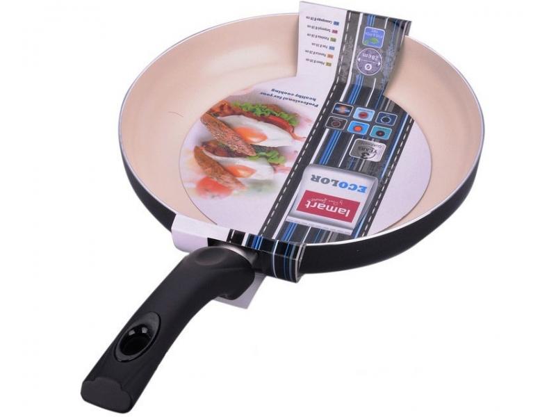 Сковорода Lamart LTK-2652 BW