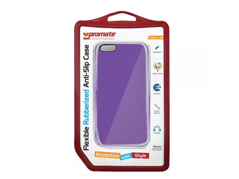 Чехол для мобильного телефона Promate FLEXI-I6 (00007332) Purple