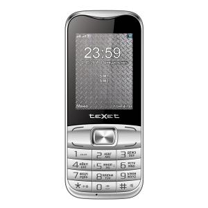 Мобильный телефон Texet TM-D45 Silver