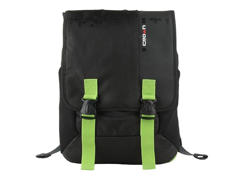 Сумка для ноутбука Crown BPH3315BG Black/Green