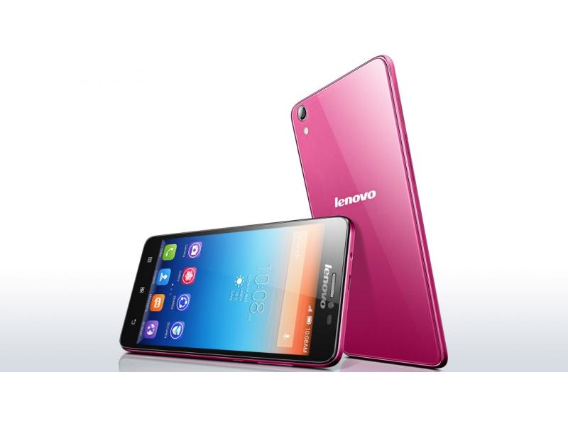 Смартфон Lenovo S850 Pink