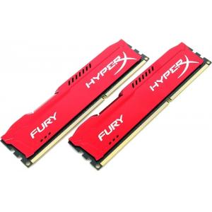 Оперативная память Kingston Hyperx Fury HX318C10FRK2/16 Red