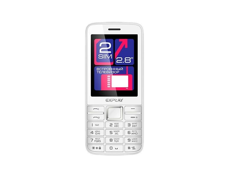 Мобильный телефон Explay TV280 White