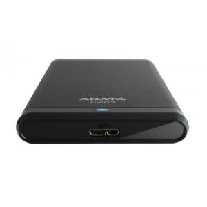 Внешний жесткий диск A-data AHV100-500GU3-CBK Black
