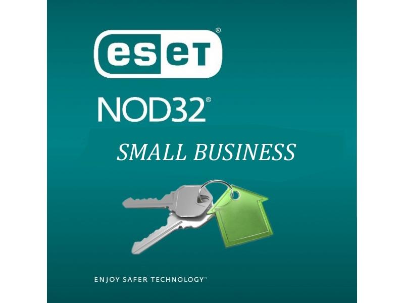 Антивирус Nod32 Eset Small Business Pack (Продление на 12 Месяцев Для 10 ПК)