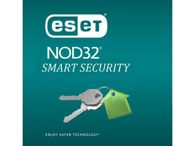 Антивирус Nod32 Eset Smart Security (Продление На 12 Месяцев Для 3ПК)