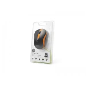 Мышь Delux DLM-137OGB Black