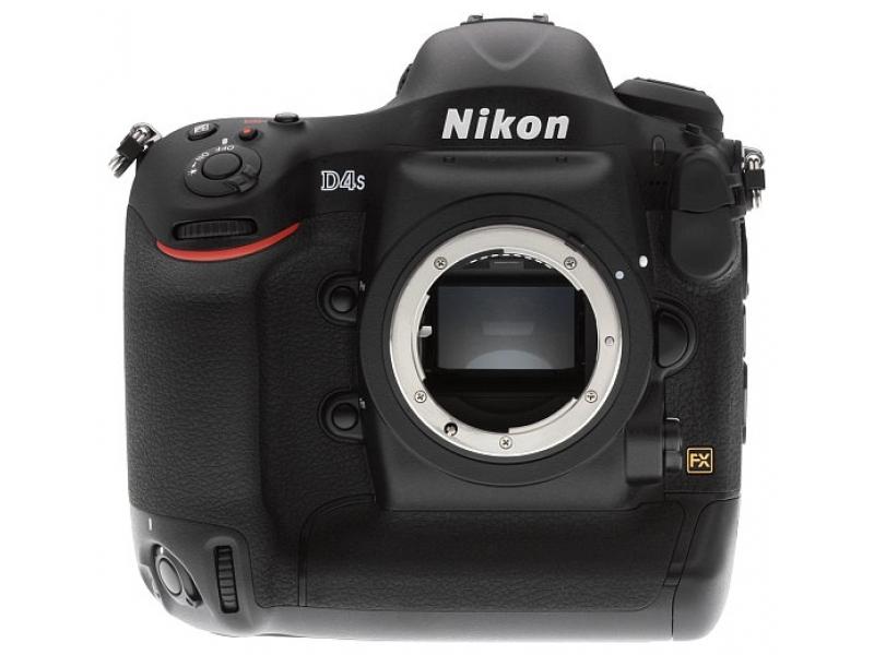 Зеркальный фотоаппарат Nikon D4S Black