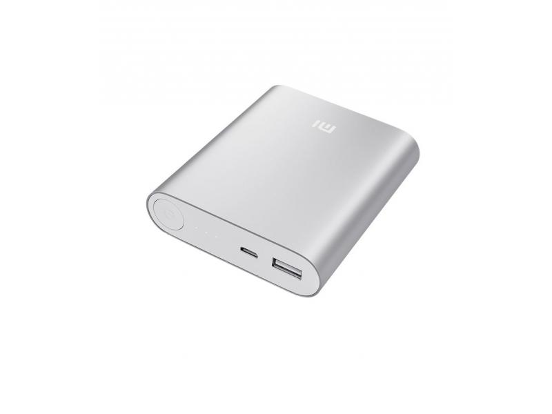 Элемент питания Xiaomi mi Power Bank 10400mAh Silver