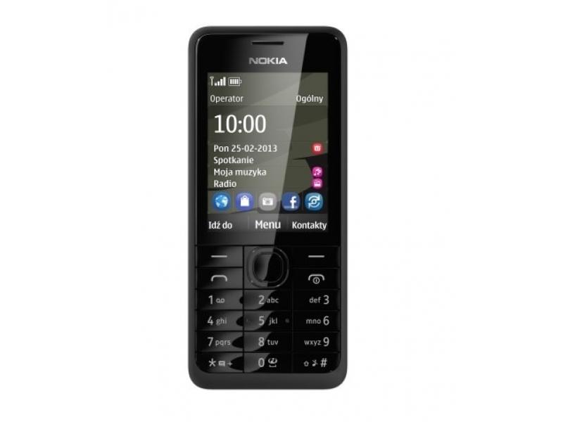 Мобильный телефон Nokia 301 Black