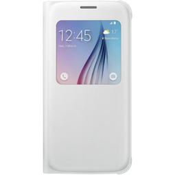 Чехол для смартфона Samsung S View Cover EF-CG920PWEGRU White для Samsung Galaxy S6