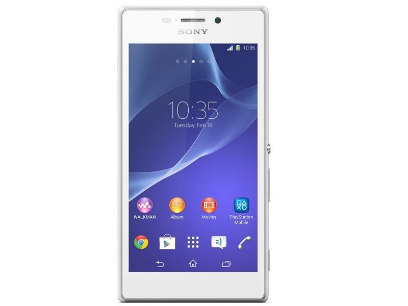 Смартфон Sony Xperia M2 Dual (D2302) White