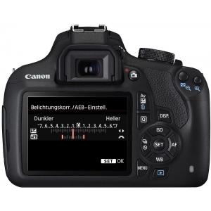Зеркальный фотоаппарат Canon EOS 1200D EFS18-55III Lens Kit Black