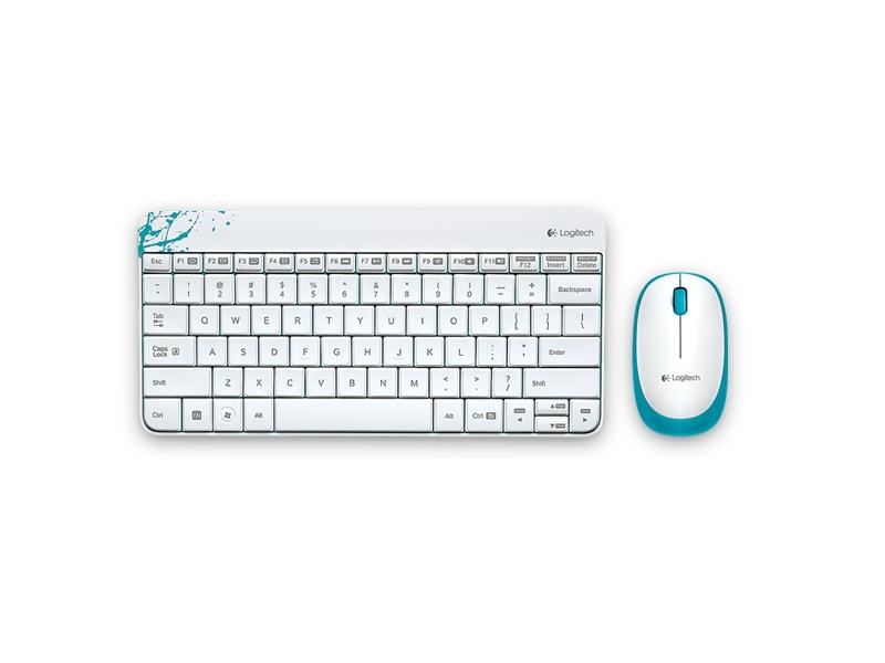 Клавиатура Logitech MK240 White