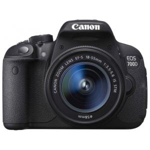 Зеркальный фотоаппарат Canon EOS 700D+EF 18-135 STM