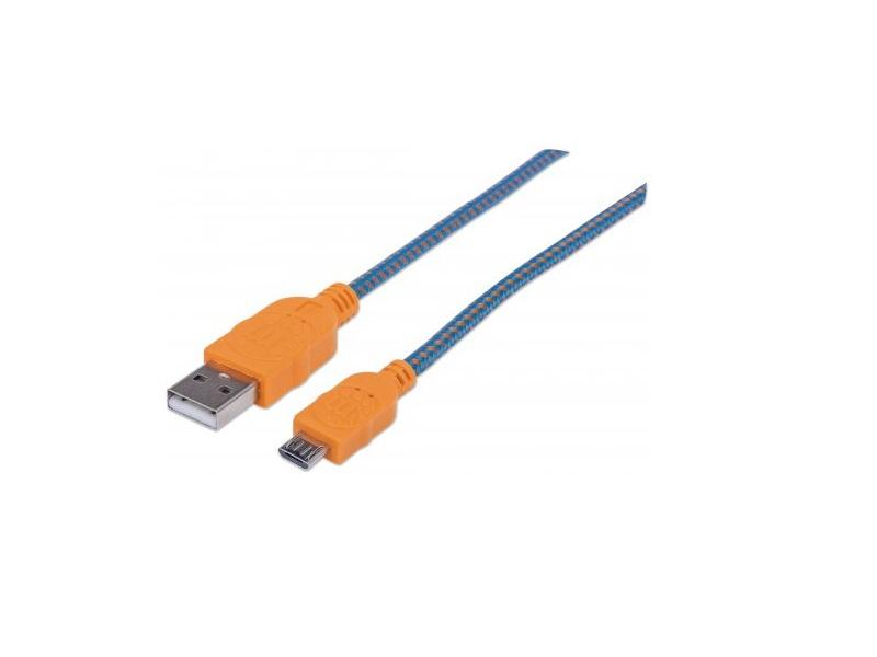 Кабель Manhattan 394024 Blue/Orange