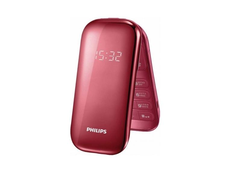 Мобильный телефон Philips E320 Red