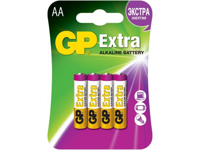 Элемент питания GP Extra Alkaline AA 24AX-2CR4