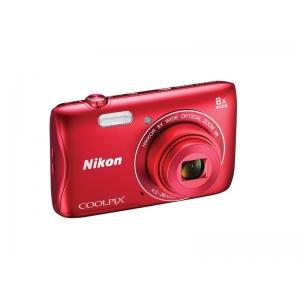 Цифровой фотоаппарат Nikon Coolpix S3700 Red