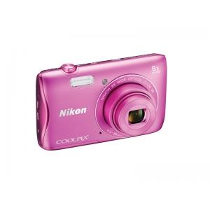 Цифровой фотоаппарат Nikon Coolpix S3700 Pink