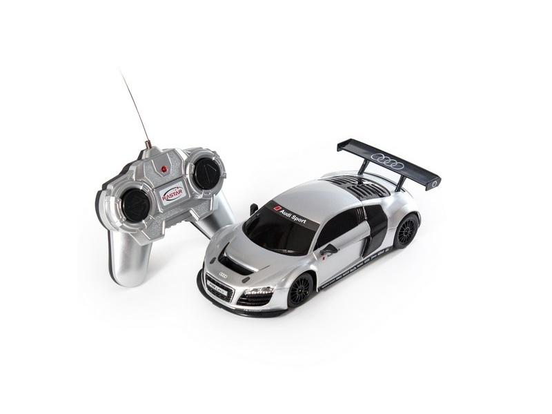 Радиоуправляемая игрушка Rastar Audi R8 46800S Silver