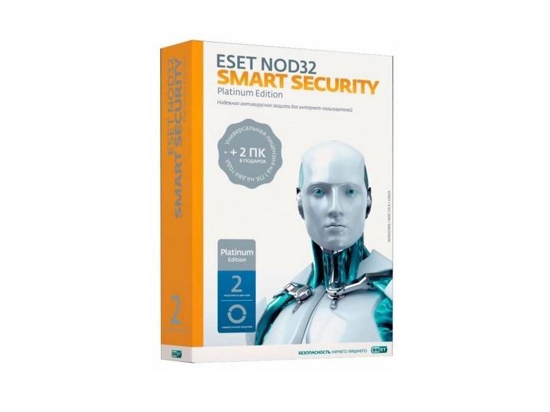 Антивирус Nod32 Smart Security Platinum