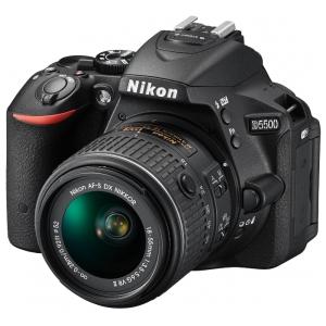 Зеркальный фотоаппарат Nikon D5500 + 18-105 VR Black
