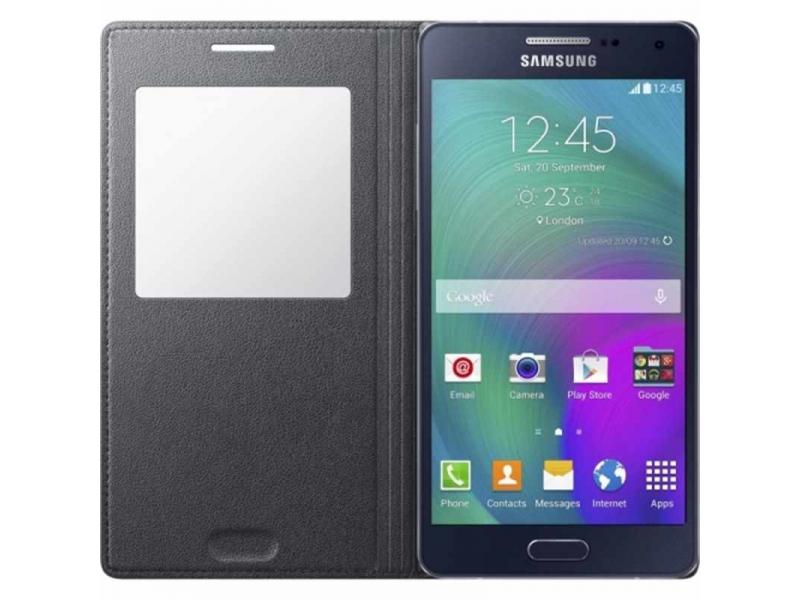 Чехол для мобильного телефона Samsung S View Cover EF-CA500BCEGRU Samsung Galaxy A5 (A500) Charcoal