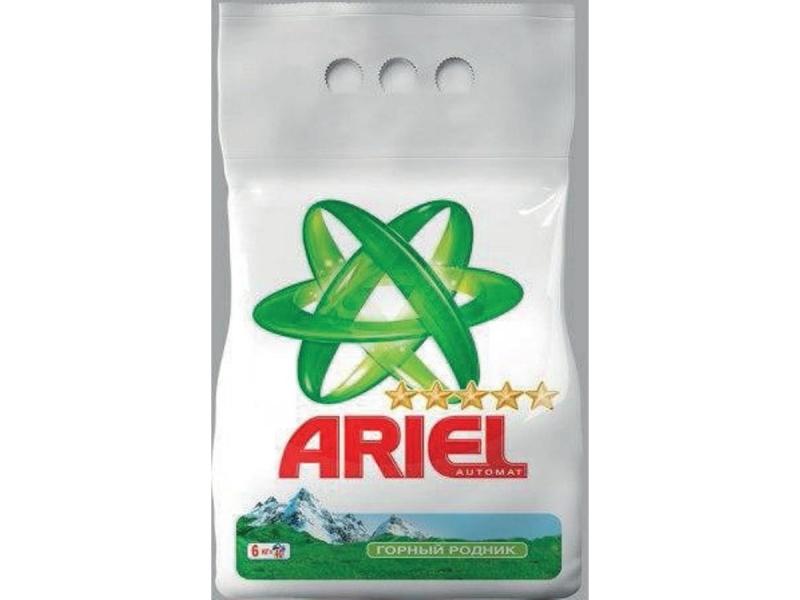 Стиральный порошок Ariel Автомат Горный Родник (6kg)
