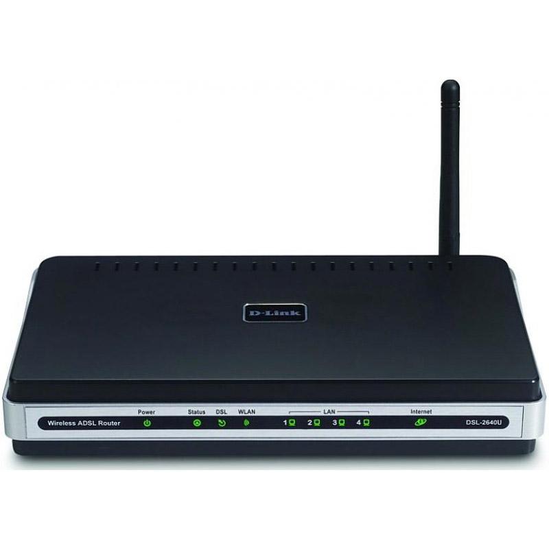 ADSL модем D-Link DSL-2640U/BRU/CS