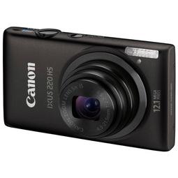 Цифровой фотоаппарат Canon Digital Ixus 220 HS Black