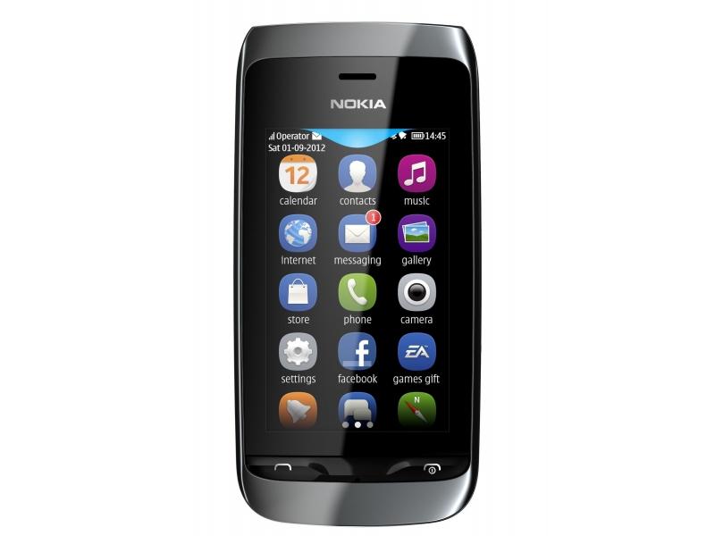 Мобильный телефон Nokia Asha 308 Black