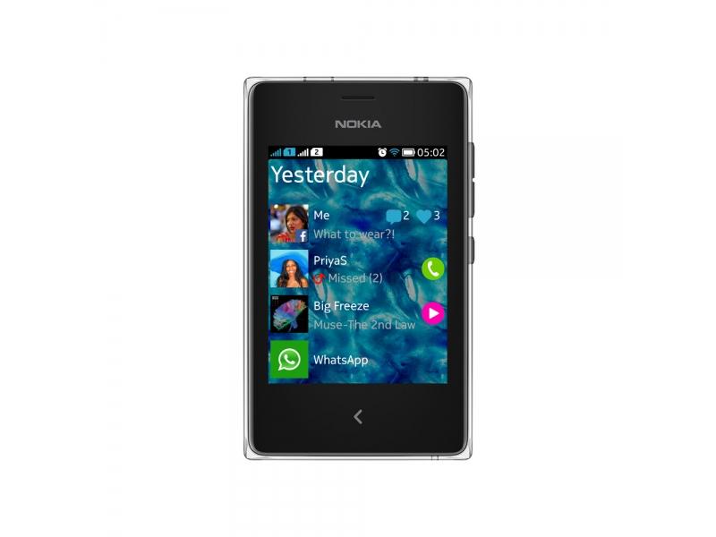 Смартфон Nokia Asha 502 Black