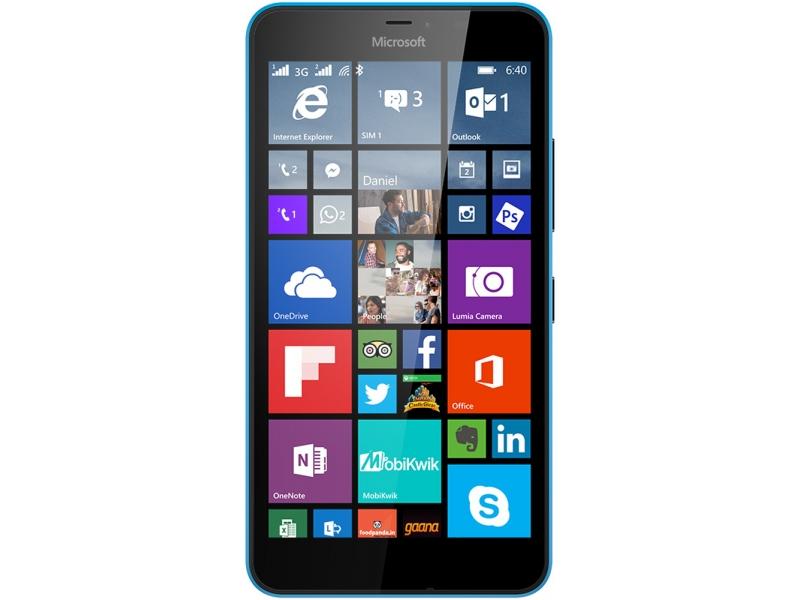 Смартфон Microsoft Lumia 640 Cyan