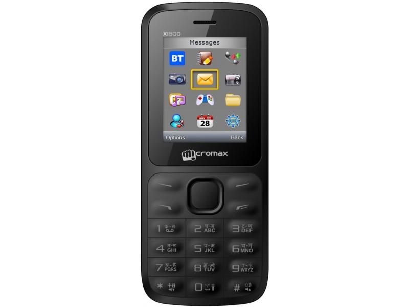 Мобильный телефон Micromax Joy X1800 Black