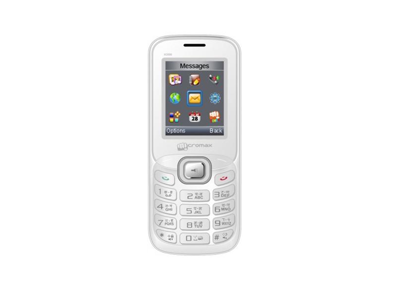 Мобильный телефон Micromax X088 White Silver
