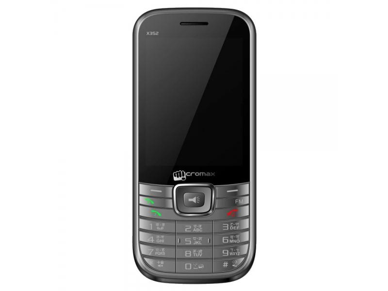 Мобильный телефон Micromax X352 Grey