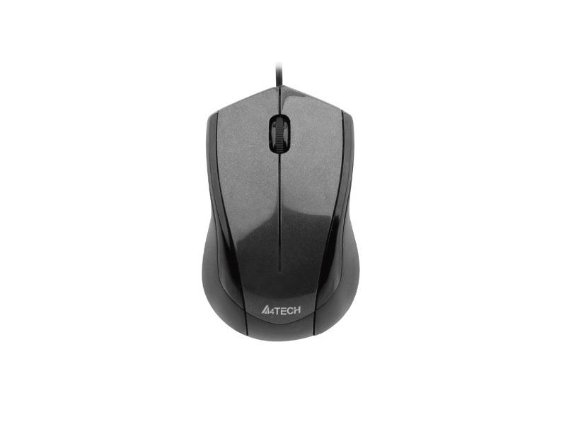 Мышь A4Tech V-Track N-400-1 Black
