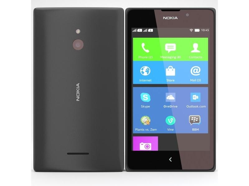 Смартфон Nokia X2 Black