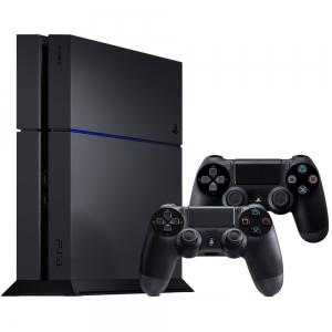 Игровая приставка Sony Playstation 4 Black+Dualshock 4